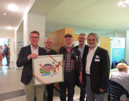 Die Otmar Alt Stiftung zu Gast beim Tag der offenen Tür der St. Barbara-Klinik Hamm-Hessen