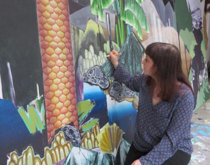 Auf der Reise in unbekannte Welten - Ein Interview mit der aktuellen Stipendiatin Anja Warzecha