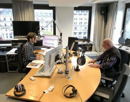 Otmar Alt zu Gast beim Dom-Radio
